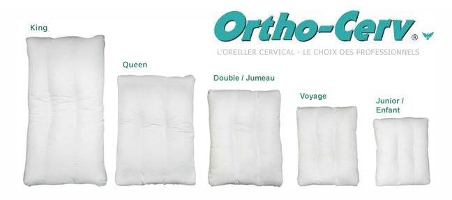 L'oreiller orthopédique Ortho-Cerv™
