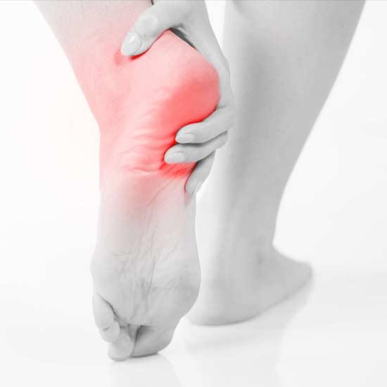 soigner une bursite au talon et genoux